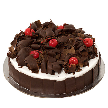 Delectable Black Forest Cake: Send Gifts to Medina