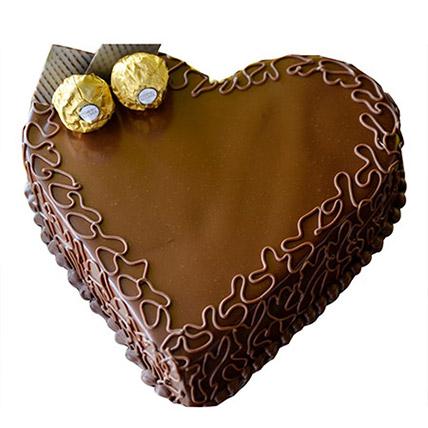 Heart Choco Cake: Heart Shaped Cakes