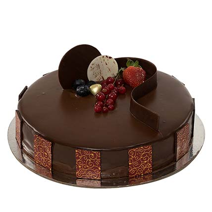 1kg Chocolate Truffle Cake: Send Gifts to Medina