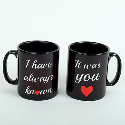 Black Love Mugs: Personalized Gifts Delivery