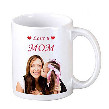 Coffee Time Personalised For Mum: Personalized Gifts Delivery