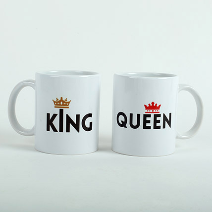 King N Queen Couple Mugs: Love and Romance Gifts
