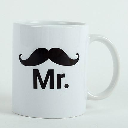Mr Ceramic Mug: Personalised Gifts