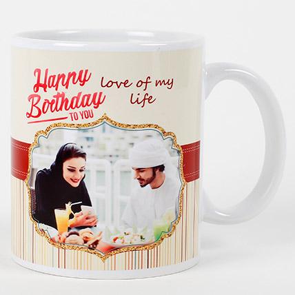 Romantic Birthday Personalized Mug: Buy Mugs