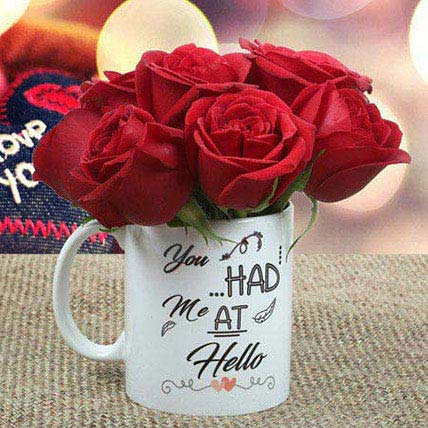 Rose Mug: Anniversary Gifts For Husband
