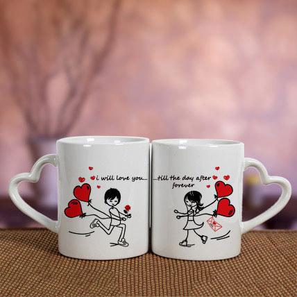 White Love Mugs: Order Mugs