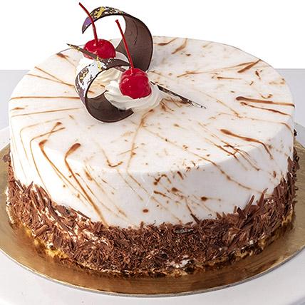 4 Portions Black Forest Cake: