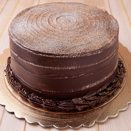 12 Portion Chocolate Fudge Cake: Cakes in Jubail