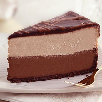 Frozen Triple Choco Cheesecake 5 Pound Half Kg: Chocolate Cake