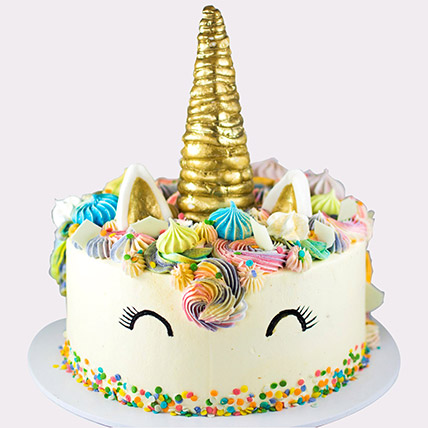 Mystical Unicorn Cake: Gifts for Friendship Day