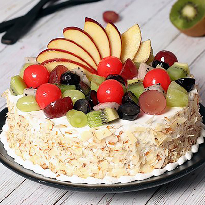 Vanilla Fruit Cake: Fresh Fruit Cakes
