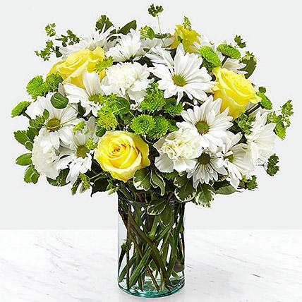 Blissful Floral Arrangement: Get Well Soon Flowers