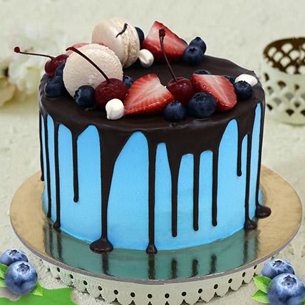 Chocolate Fruity Cake: