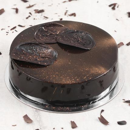 Exotic Chocolate Mousse Cake Half Kg: Chocolate Cake Shop