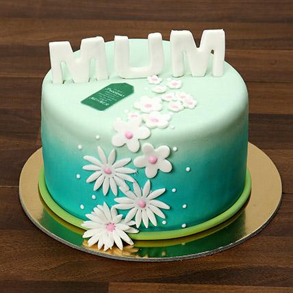 Mothers Day Fondant Cake 1 Kg: Cartoon Cakes