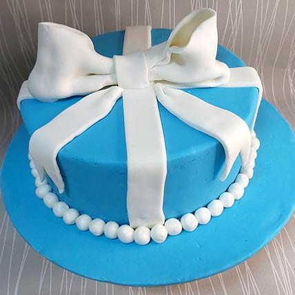 Baby Boy Gift Chocolate Cream Cake: Designer Cakes