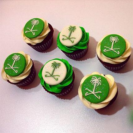 Saudi Arabia Chocolate Cup Cakes: Saudi National Day Gifts