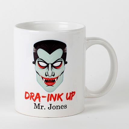 Scary Dracula Mug: