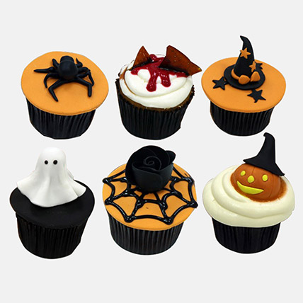 Halloween Themed Chocolate Cupcakes: Thanks Giving Gifts