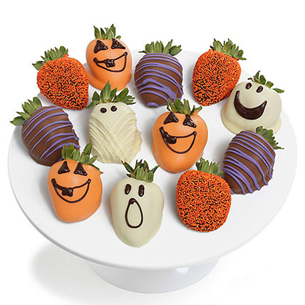 Spooky Chocolaty Strawberries: Thanks Giving Gifts