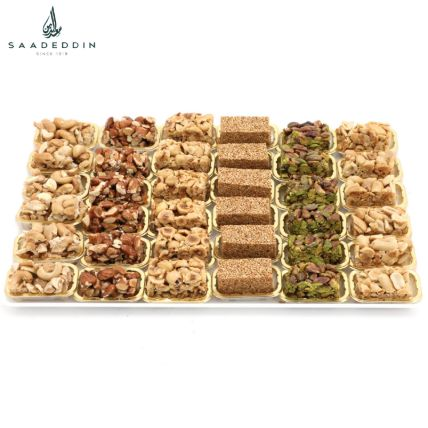 Assorted Nuts With Honey Delight: Order Sweets