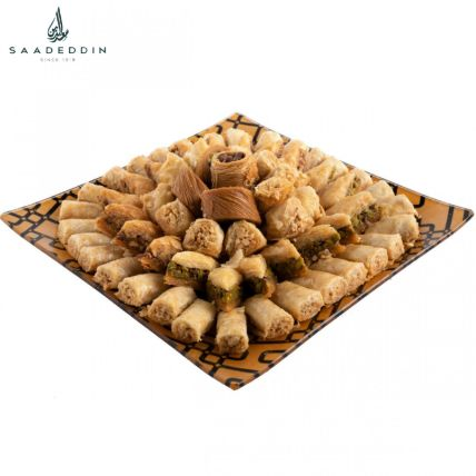 Assorted Baklawa Delight: Same Day Delivery Gifts