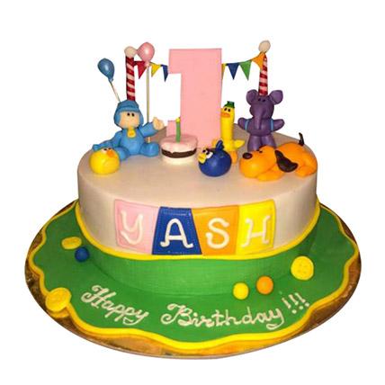 Pocoyo Cartoon Cake: Cartoon Cakes