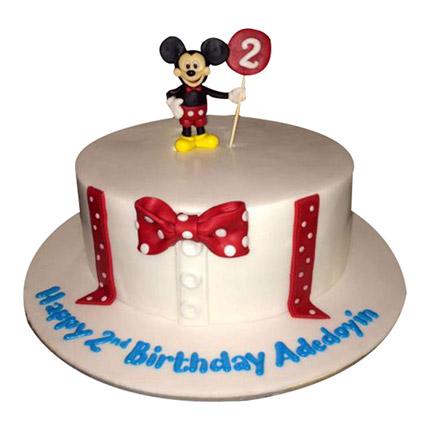 Mickey Cartoon Cake: