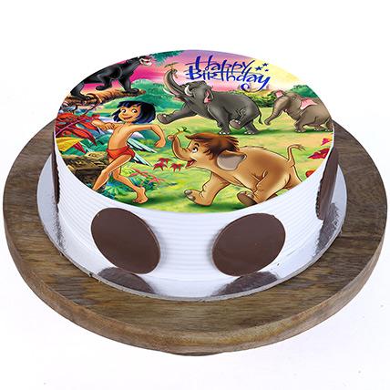 Jungle Book Cake: