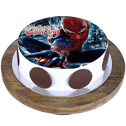 Marvel Spiderman Cake: