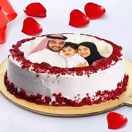 Velvety Photo Cake: