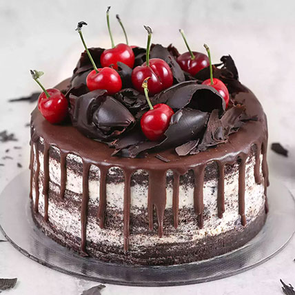 Delicate Black Forest Cake: