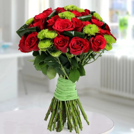 Bunch Of Mysterious Roses: