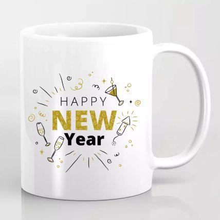 Happening New Year Greetings Mug: New Year Gifts