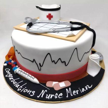 Happy Graduation Doctor Cake: Graduation Cakes