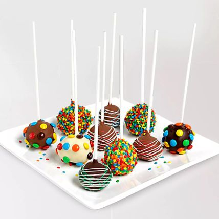 Belgian Chocolate Cake Pops: Easter Gifts
