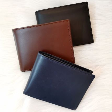 Personalised Classic Men Wallet: Valentines Day Personalised Gifts