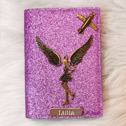 Personalised Name Charm Wallet: Gifts for Girlfriend