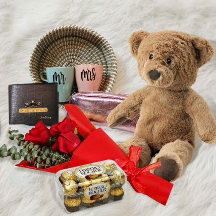 Valentines Day Premium Hamper: Gifts for Teddy Day