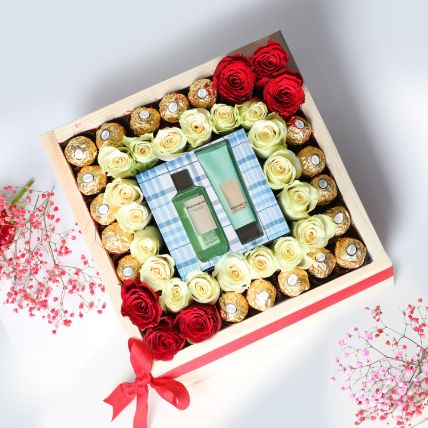 Beautiful Valentines Day Love Hamper: Valentines Day Gifts for Him