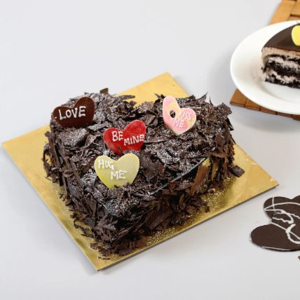 Choco Blast Love Cake: Promise Day Gifts