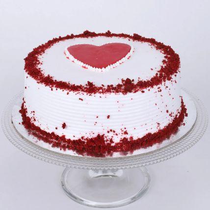 Adorable Red Velvet Cake: Half Kg Cakes Delivery