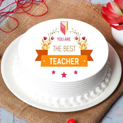 Best Teacher Chocolate Cake: Order Cakes