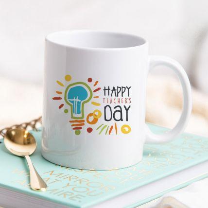 Happy Teachers Day White Mug: Order Mugs