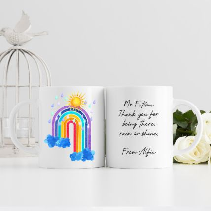 Thank You For Being There Mug: Order Mugs