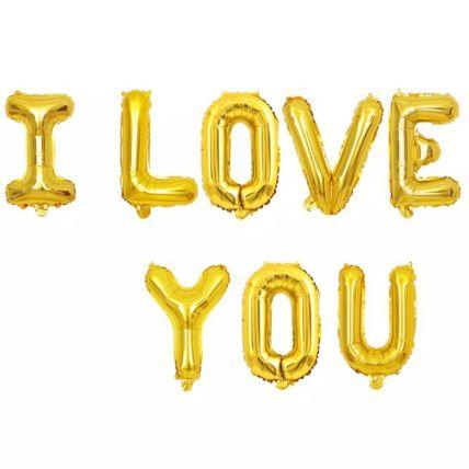 I Love You Balloon Set: Buy Balloons