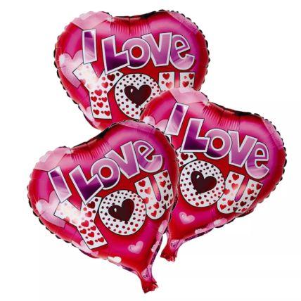 I Love You Foil Balloons: Buy Balloons