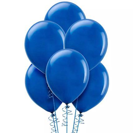 Blue Helium Balloons: Balloons
