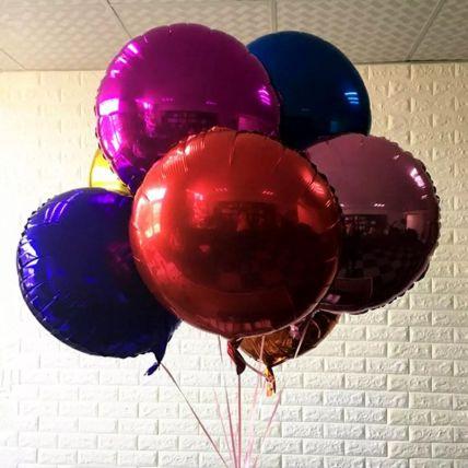Colourful Foil Balloons: Balloons