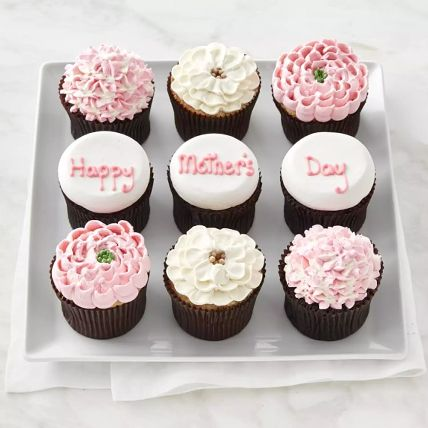 Cute Happy Mothers Day Cupcakes: Gifts for Mothers Day
